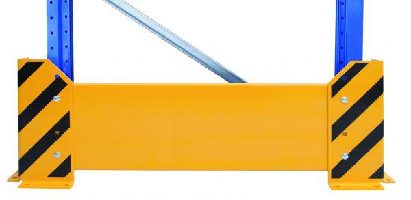 Rammschutz-Wand für Palettenregale
