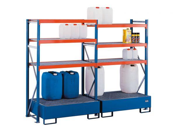 Weitspannregal W 100 Umweltregal-Set